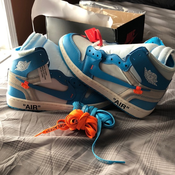 87e9ffc9bda Jordan Shoes | Nike Air 1 Off White Unc | Poshmark